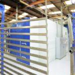 Automated powder coating plant