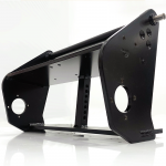 Quality black powder coated chassis