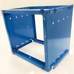 Quality blue powder coating
