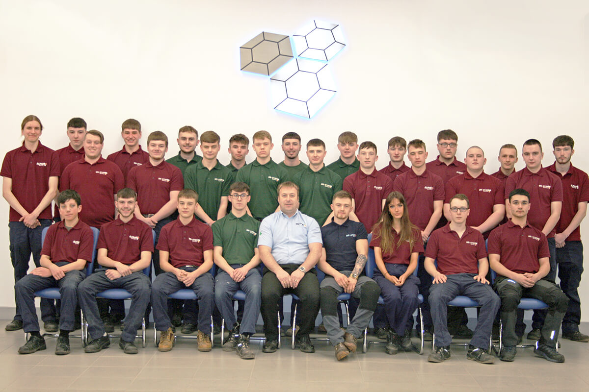 Atlas Powder Coatings Apprentices